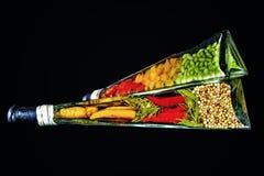 Уксус специи Стоковая Фотография RF