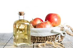 Уксус яблочного сидра Стоковое Изображение RF
