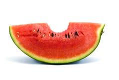 Укус арбуза Стоковая Фотография