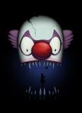 Укус клоуна Стоковые Фото