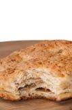 Укус на patella с хриплостями стоковая фотография rf