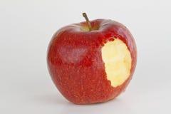 укус яблока Стоковая Фотография