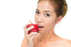 Укус Яблока Стоковые Фотографии RF