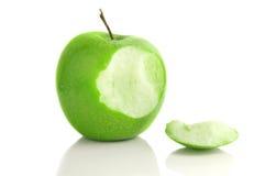 укус яблока Стоковая Фотография RF