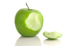 укус яблока Стоковые Фото