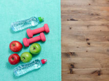 уклад жизни принципиальной схемы здоровый Стоковая Фотография