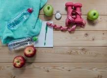 уклад жизни принципиальной схемы здоровый Стоковое Изображение