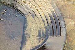Укладка в форме для золота в территориях Юкона Стоковая Фотография RF