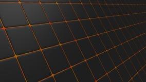 Уклоненная черная мозаика Стоковая Фотография RF