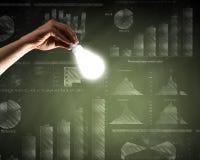 лук-порей коммерсантки дела brainstorming предпосылки смотря обдумывающ высокорослый думать вверх по белизне зрения визуализируя Стоковое Фото