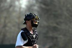 улавливатель бейсбола Стоковые Фотографии RF