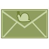 улитка почты Стоковая Фотография