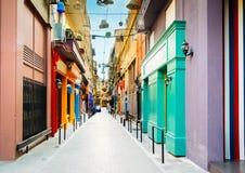 Улица Афин, Греции стоковые фото