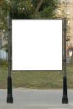 улица афиши пустая Стоковые Фотографии RF