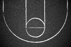 улица баскетбольной площадки Стоковое фото RF