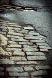 Улица булыжника Нью-Йорка Стоковое Изображение RF