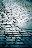 Улица булыжника Нью-Йорка Стоковое Фото