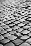 Улица булыжника римская стоковые изображения rf