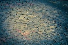 улица булыжника старая Стоковые Изображения