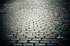 улица булыжника старая Стоковое фото RF