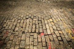улица булыжника старая Стоковые Фотографии RF