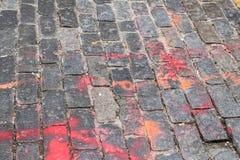 улица булыжника старая Стоковое Изображение RF