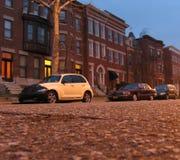 улица вечера стоковое изображение rf