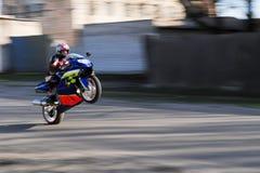 улица всадника Стоковые Фотографии RF