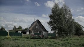 Улица в деревне сток-видео