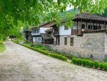 Улица в заповеднике Etera в Болгарии Стоковая Фотография
