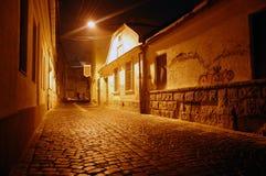 Улица в ноче Стоковое Изображение RF