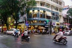 Улица в Сайгоне, Вьетнам Стоковое Фото
