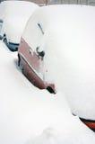 Улица в шторме снежка Стоковые Фото