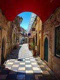 Улица в Янине Греции Стоковые Фотографии RF