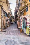 Улица в Chania стоковые изображения rf