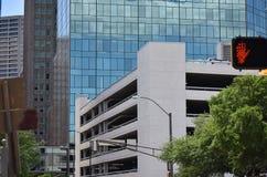 Улица в Fort Worth, Техасе Стоковая Фотография