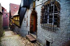 Улица в Meissen стоковые изображения