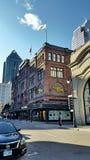 Улица в Montréal Квебеке стоковые изображения rf