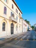 Улица в Piran Стоковое Фото