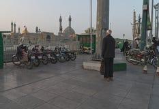 Улица в Qom, Иране Стоковая Фотография RF