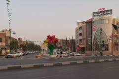Улица в Qom, Иране Стоковые Фотографии RF