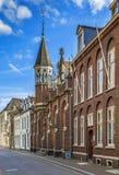 Улица в Sittard, Нидерландах Стоковая Фотография RF