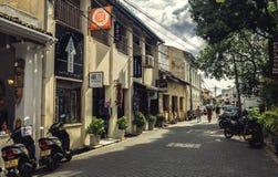 Улица городка Галле Стоковая Фотография RF