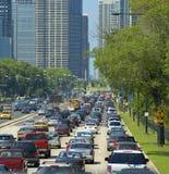 улица дня городская горячая стоковое фото rf