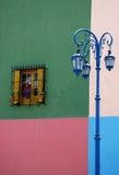улица дома caminito стоковое фото