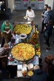 улица еды Стоковые Фотографии RF