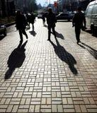 улица жизни Стоковая Фотография