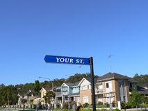 улица знака ваша Стоковые Фото