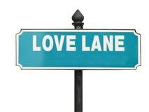 улица знака влюбленности майны стоковая фотография