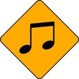улица знака примечания нот иллюстрация вектора